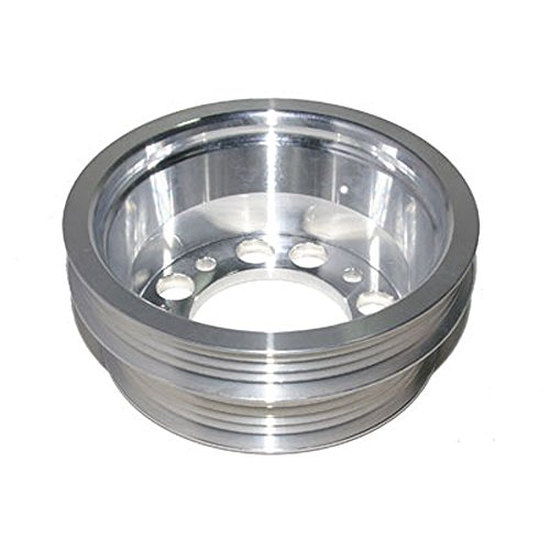 Lightweight Performance Crankshaft/Underdrive Aluminum Pulley Fits Mazda RX-8 2004-2008 (Performance Underdrive Pulley)