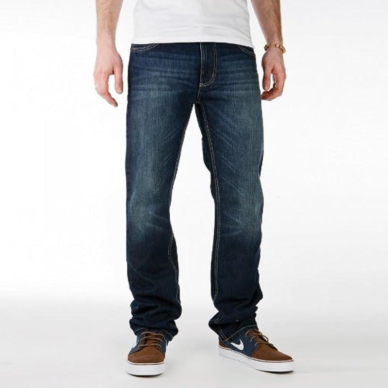 Sequence Jeans spodnie Easy Pant ciemnoniebieskie denim: Odzież