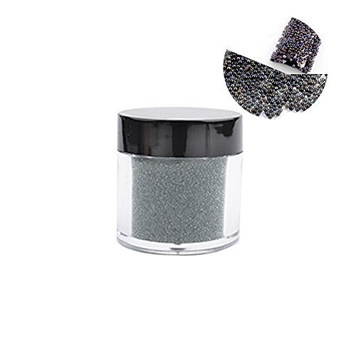 Clest F&H Mini Glitter Beads Manicure Decoration Micro Beads Crystal Sand Nail Art Decoration -