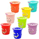 8 Reusable Keurig Single K Cup 2.0 - Solo Filter Pod Coffee Stainless Mesh - 8 Rainbow Color