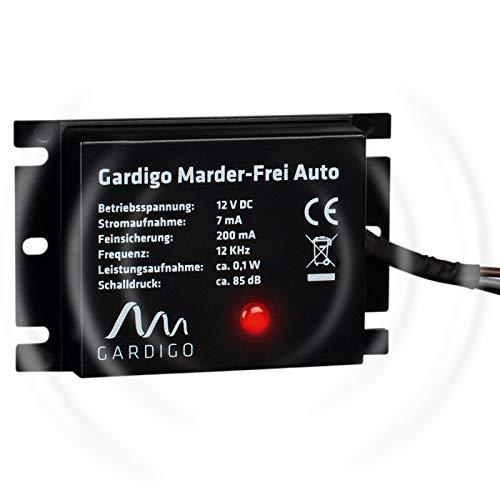 Gardigo Marten-Free Auto / Marter Bescherming voor Auto I Marten Verdediging Marten Vogelverschrikker I Voor aansluiting…