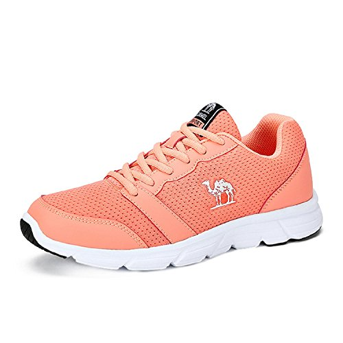 Breathable Shoe Road Up Trail Running Lace Outdoor Red Non Womens slip Camel Professional WPgXqaUZO