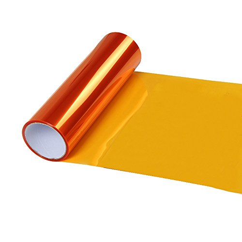 (Maikouhai Tint Sticker, Waterproof New Auto Car Smoke Fog Light Headlight Taillight Tint Vinyl Film Sheet Sticker for Side Marker Lights, Office, Dance Hall, Bar, Exhibition - 30x60 cm (K))