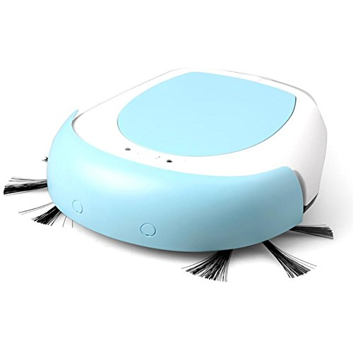 LIUSHUInteligente Sweep robot à la maison aspirateur Super stérile éponge sol balayeur, mode bleu