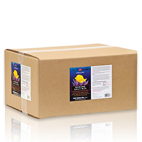 Coralife Marine Salt Mix, 200 Gallon (boxed item)