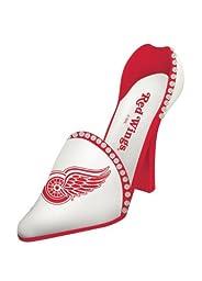 Detroit Red Wings Decorative Wine Bottle Holder - Shoe
