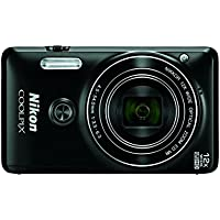 Nikon COOLPIX S6900 Digital Camera with 12x Optical Zoom and Built-In Wi-Fi (Black) At A Glance Review Image