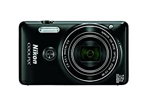 Nikon COOLPIX S6900 Digital Camera with 12x Optical Zoom and Built-In Wi-Fi (Black)