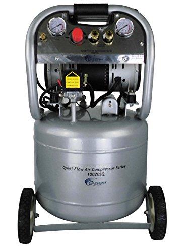 California Air Tools 10020SQ Quiet Flow 2.0 Hp, 10.0 Gal. Steel Tank Air Compressor