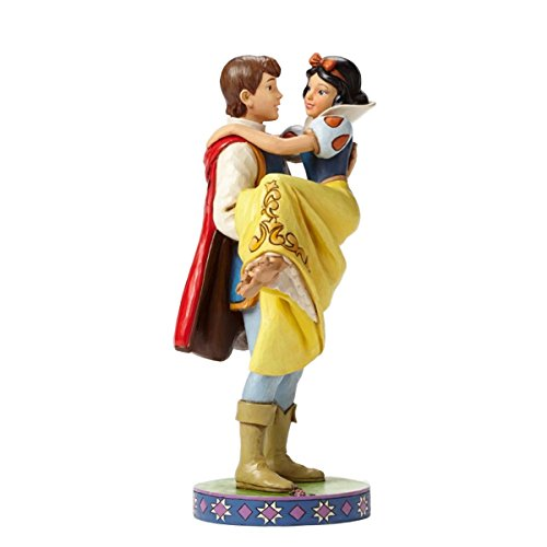 (Disney Traditions by Jim Shore Snow White with The Prince Stone Resin Figurine, 9.5