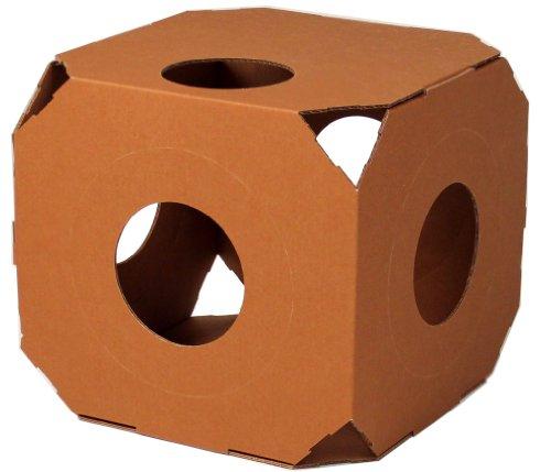 Catty Stacks Modular Cat Condos, Chocolate Brown, My Pet Supplies