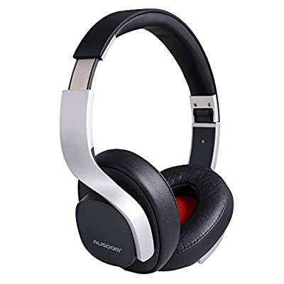 AUSDOM M08- Wireless Bluetooth Stereo Headset and Noise Reduction with microphone and Extra Bass from AUSDOM