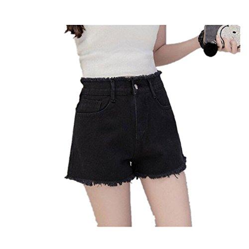 時間とともにボイドビルMARIAH(マリア) ショート パンツ デニム ダメージ ショーパン レディース  美脚 大きいサイズ