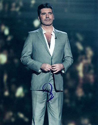 Simon Cowell Signed Autograph 8x10 Photo AMERICAN IDOL AMERICA'S GOT TALENT COA