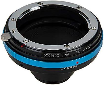 Fotodiox Pro - Adaptador de Montura para Objetivo Nikon F Mount G ...