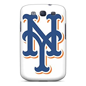 Perfect Hard Phone Cases For Samsung Galaxy S3 With Customized Beautiful New York Mets Image JohnPrimeauMaurice