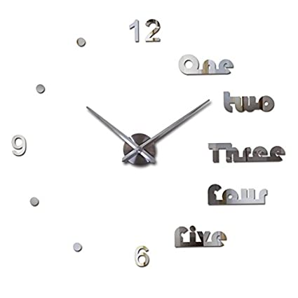 Treading - wall clock modern design reloj de pared quartz watch large decorative clocks europe living