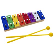 D'Luca CTL8 8 Colored Notes Children Xylophone