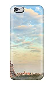 4477758K51286373 Iphone 6 Plus Case Cover - Slim Fit Tpu Protector Shock Absorbent Case (eiffel Tower)