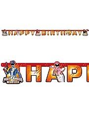 Riethmuller Power Rangers Mega Force Banner - 552539, Multi Color