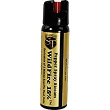 Wildfire Pepper Spray 4 Ounce Stream -18% OC - Police Strength - Self Defense - Range 15-18 Feet