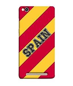 ColorKing Football Spain 03 Multicolor shell case cover for Xiaomi Redmi 5A