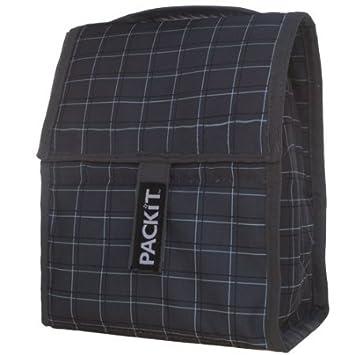 Amazon.com: PackIt bolsa de bolsa de almuerzo, cuadros: Baby