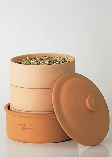 hawos Terracotta Sprouter Clay Sprouting Pot by Happy Mills