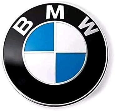 ORIGINALE BMW EMBLEMA TARGA PORTELLONE 5er f10 f11 82mm BAGAGLIAIO