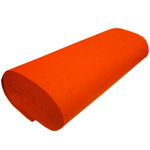 Orange Acrylic Craft Felt - 72