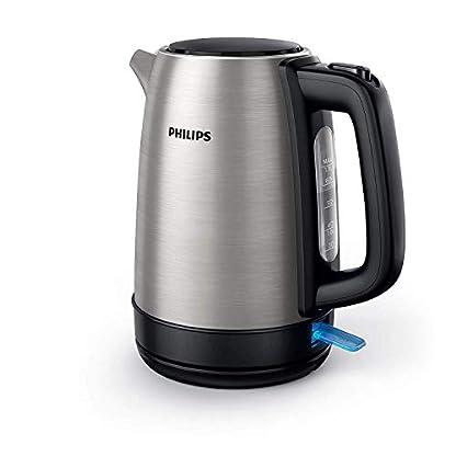 Philips HD9350/90 Wasserkocher (2200 Watt, 1.7 Liter, Edelstahl)[Energieklasse A+++] 1