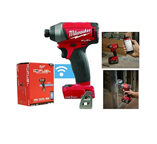 M18 Fuel w/ONE-Key 0.25'' Cordless Hex Impact Driver (Tool Only) Quick Delivery