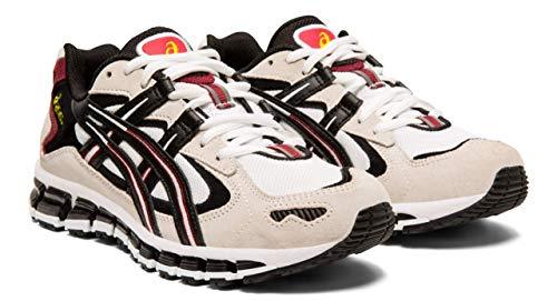 ASICS Gel-Kayano 5 360 Women's Running Shoes, White/Cream, 8 M US