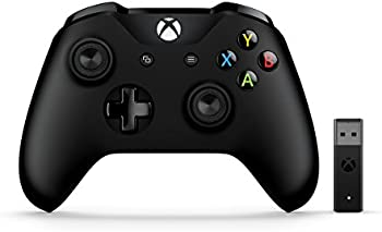 Microsoft Xbox Wireless Controller and Wireless Adapter for Windows 10