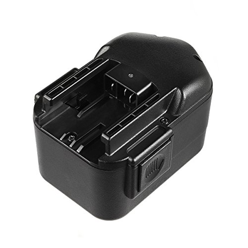 Masione 14.4V 14.4 volt Power Tool Replacement Battery For Milwaukee 48-11-1024 48-11-1000 Cordless Drill Driver, fits AEG 14.4 Volt Power Tools