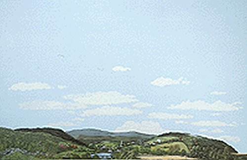 Walthers, Inc. Instant Horizons Eastern Foothills to Country Background Scene, 24 X 36 60 x 90cm