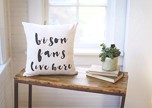 Enidgunter Ndsu Bison Ndsu Pillow North Dakota State Pillow Fargo