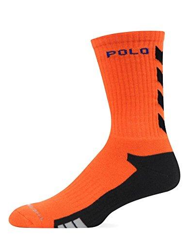 Polo Ralph Lauren Thermovent Orange Athletic Chevron Crew Socks for - Outlet Ralph Lauren Online