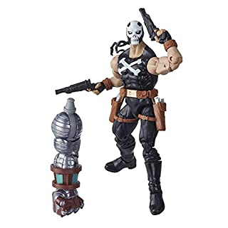 Marvel Hasbro Black Widow Legends Series 6-inch Collectible Crossbones Action Figure Toy, Premium Design, 4 Accessories, Ages 4 and Up