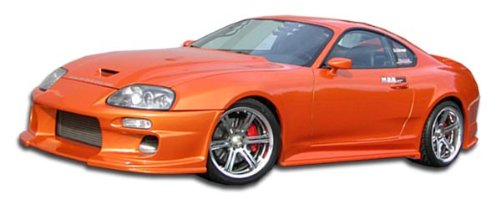 Duraflex ED-EXG-647 Demon Side Skirts Rocker Panels - 2 Piece Body Kit - Compatible For Toyota Supra 1993-1998 Demon Side Skirt Accessories