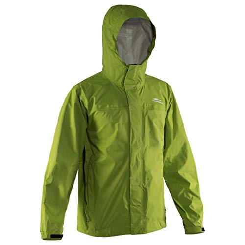Grundéns Men's Storm Runner Fishing Jacket, Denali Green - 5X-Large