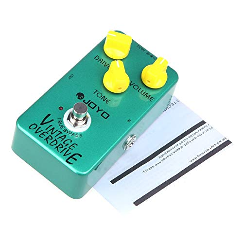 Joyo JF-01 Vintage Overdrive Guitar Effect Pedal True Bypass by Dingq