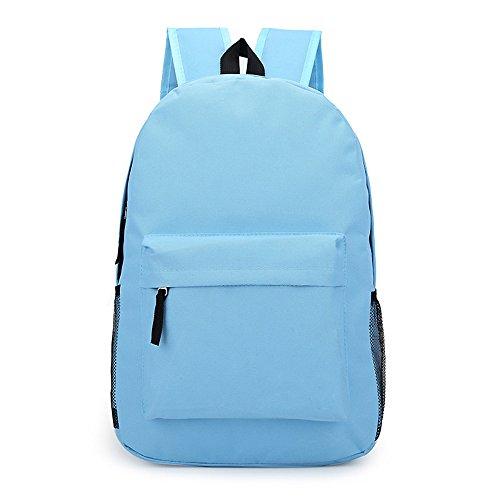 Anne - Bolso mochila  para mujer negro amarillo azul celeste