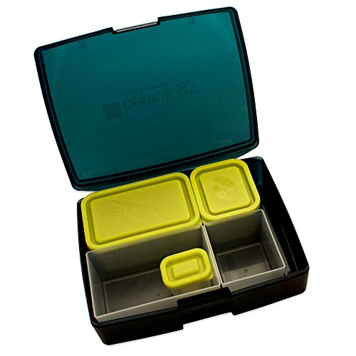 Bentology Classic 6-Piece Bento Box Set in Blue (Kokeshi Bento Container compare prices)