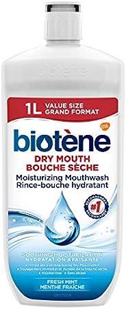 biotène Dry Mouth Moisturizing Mouthwash, VALUE size 1L