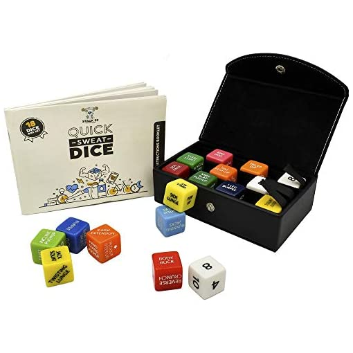 Stack 52 Quick Sweat Fitness Dice Game Make Exercise NEW