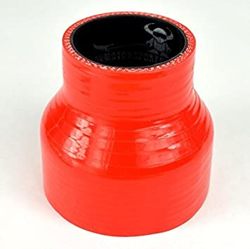 76mm Length Green with Black Liner Demon MotorSport 76mm  51mm Straight Silicon Reducer