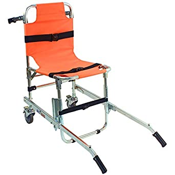EMS Stair Chair Aluminum Light Weight Ambulance Medical Lift