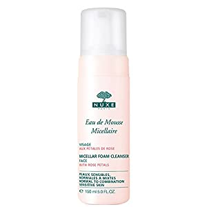 Nuxe Eau de Mousse Micellaire aux Pétales de Rose Lot de 2 x 150 ml