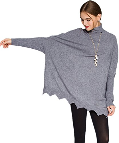 Womens Turtleneck Sleeve Pullover Sweaters
